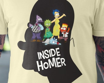 Inside Homer T-Shirt | Unisex - Women |