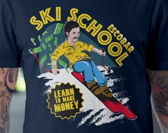 Escobar Ski School T-Shirt | Unisex - Women |