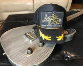 Lucky Dog Guitars Old School Trucker Mesh Ball Cap Hat w/ foam structured crown - Regular size - USA - Smokey and the Bandit - Country Music