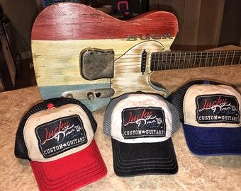5e6b659eb1e Lucky Dog Guitars Red White or Blue