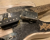 """Lucky Dog """"Honky Tonker"""" tele / telecaster upgrade pickups USA made boutique grade custom wound matched pickup set guitar"""