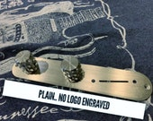 New 2020 Lucky Dog tele telecaster replacement control plate with slanted switch slot for easy switching. PLAIN (no engraved Lucky Dog logo)