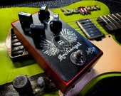 Lucky Dog Archangel (Silver box) low to medium gain smooth overdrive pedal.