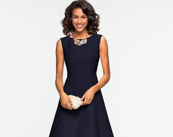 Elizabeth Stone Day to Night, fit and flare, Dress