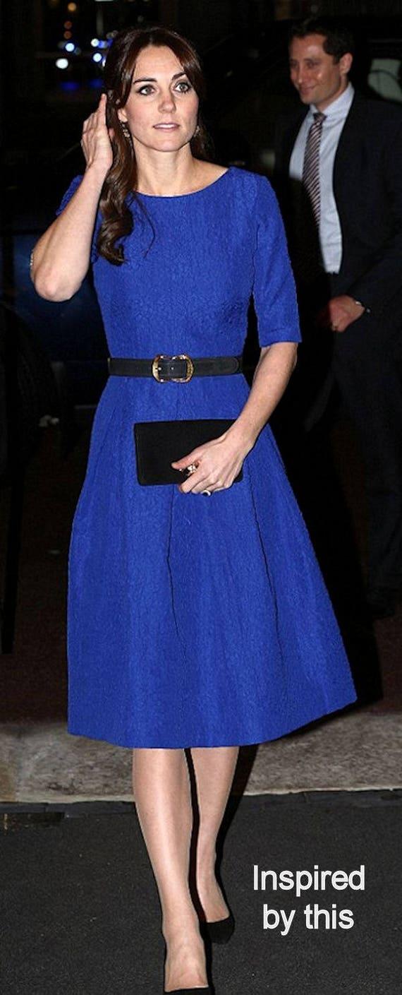 Maßgeschneiderte Kate Middleton inspiriert Kleid klassisch | Etsy