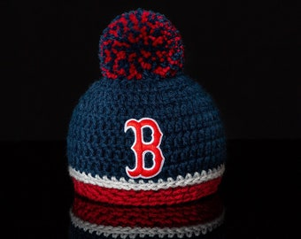 1586c30eb46 Boston Red Sox baby hat