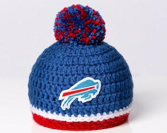 c8b32e4c0d8 Buffalo Bills inspired baby hat