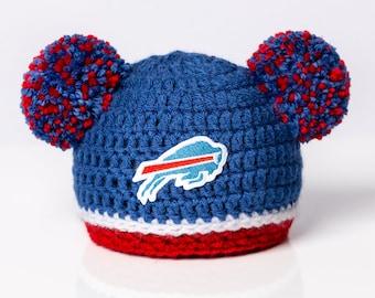 aa88d505e67 Buffalo Bills inspired baby hat