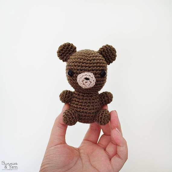 Patrón de Crochet en Inglés Oso Bebé 6 Babies   Etsy