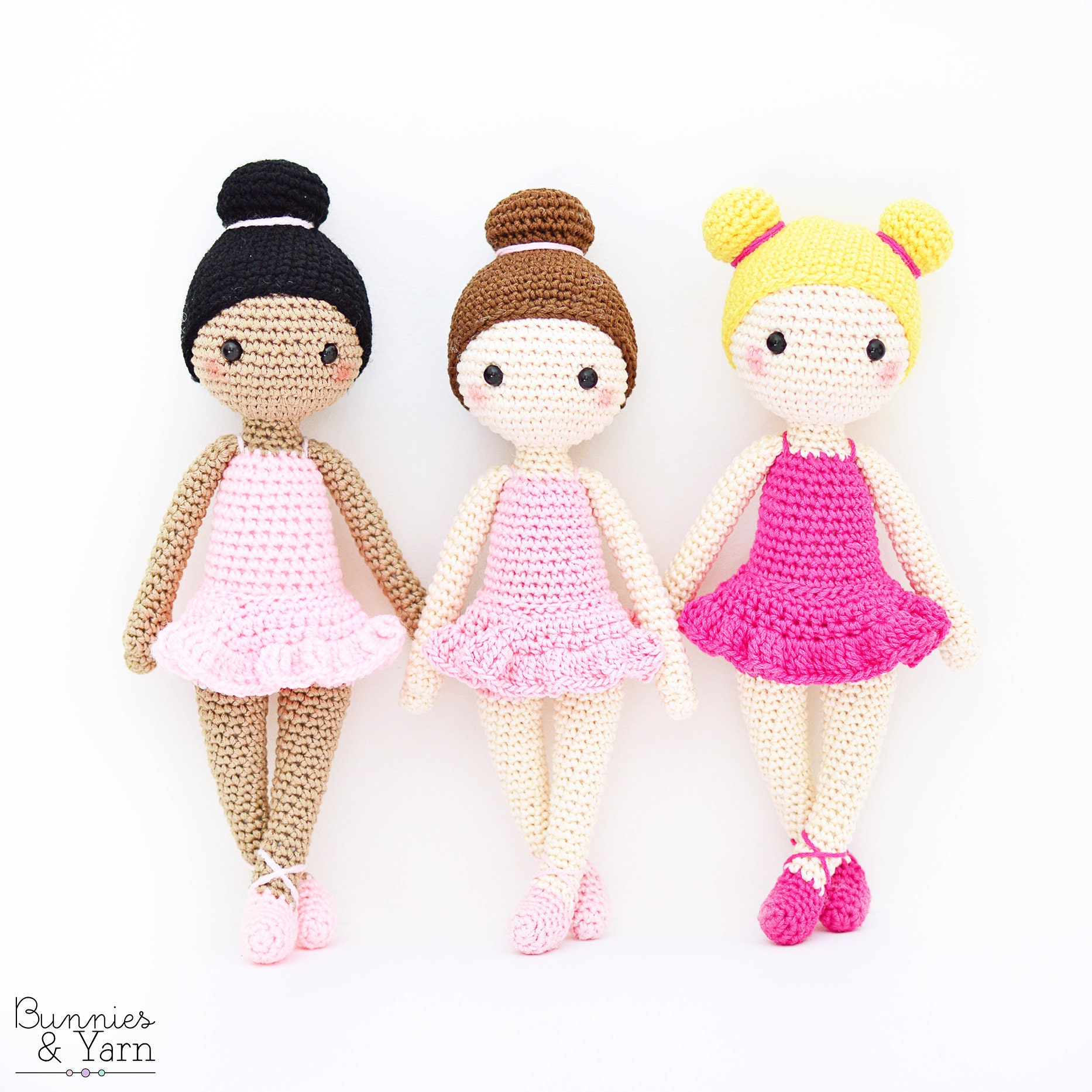Crochet Pattern In English Tracey The Ballerina Doll Etsy