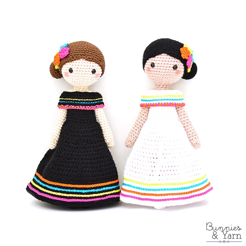 CROCHET PATTERN in English and Spanish  Maria and Lucia  11 image 0