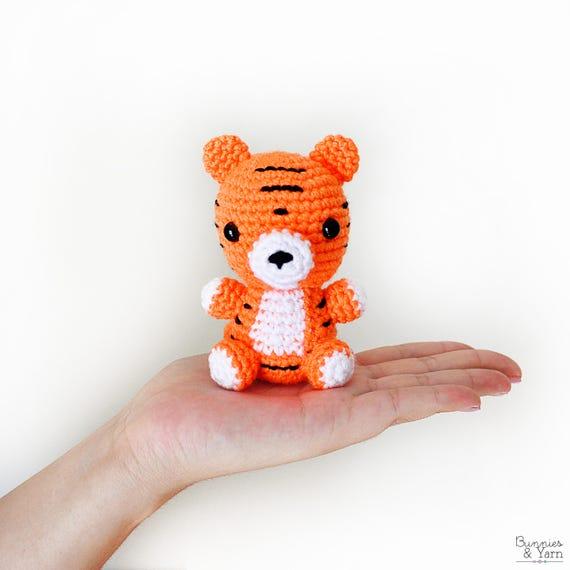 Patrón de Crochet en Inglés Tigre Bebé 9 Babies | Etsy
