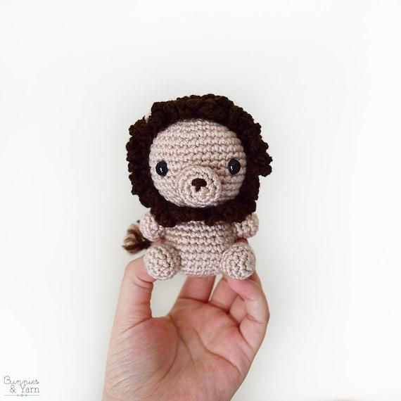 Patrón de Crochet en Inglés León Bebé 7 Babies | Etsy