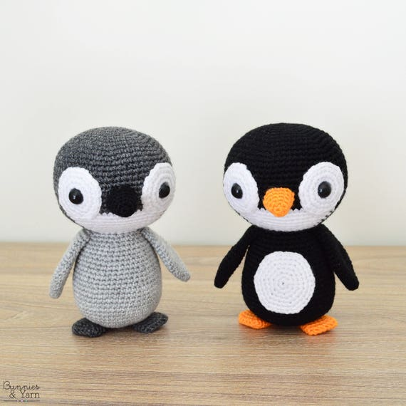 Patrón de Crochet en Inglés Yves el Pingüino 17 | Etsy