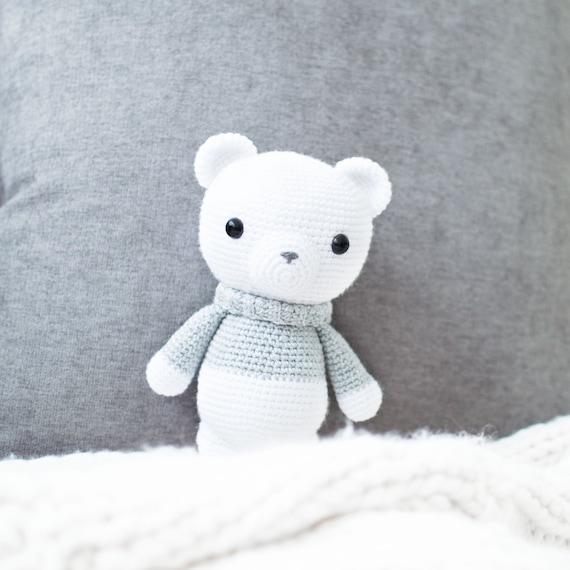Patrón de Crochet en Inglés Xander el Oso de Invierno 23 | Etsy