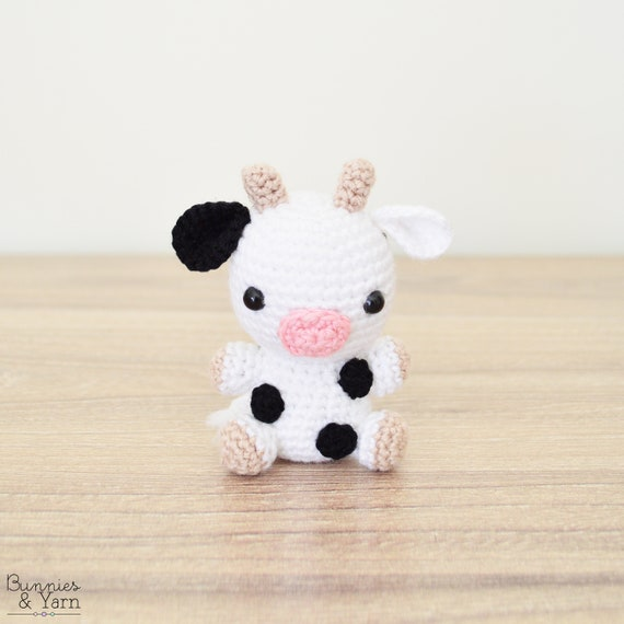 Patrón de Crochet en Inglés Vaca Bebé 16 Babies | Etsy
