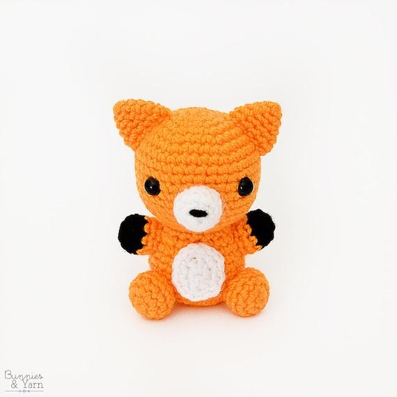 Patrón de Crochet en Inglés Zorro Bebé 4 Babies | Etsy