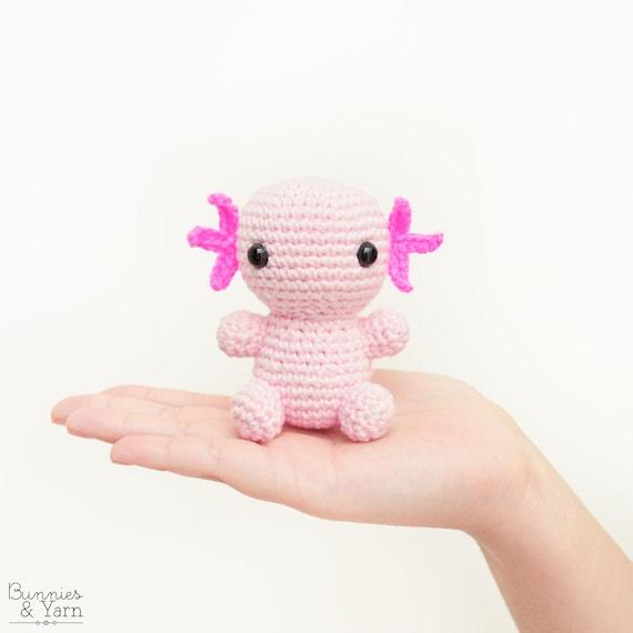 Patrón de Crochet en Inglés Axolotl Bebé 15 Babies | Etsy
