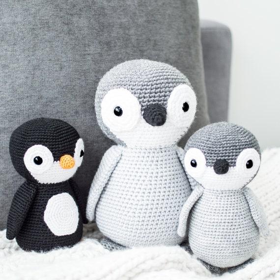 Patrón de Crochet en Inglés Yves el Pingüino 20   Etsy