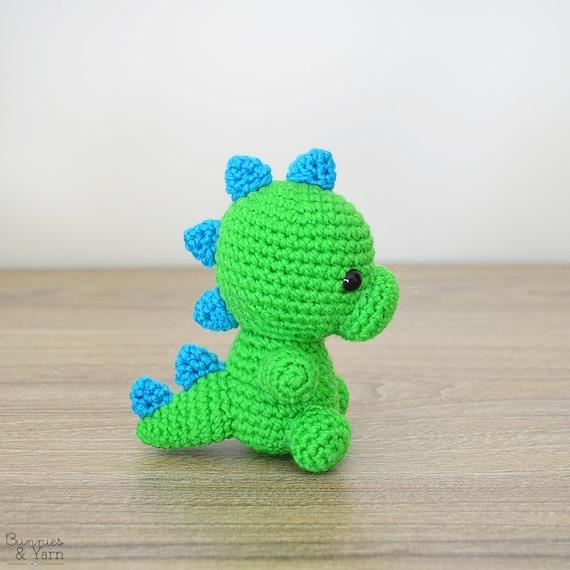 Patrón de Crochet en Inglés Dinosaurio Bebé 5 Babies