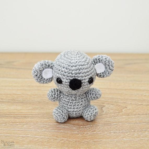 Patrón de Crochet en Inglés Koala Bebé 3 Babies   Etsy