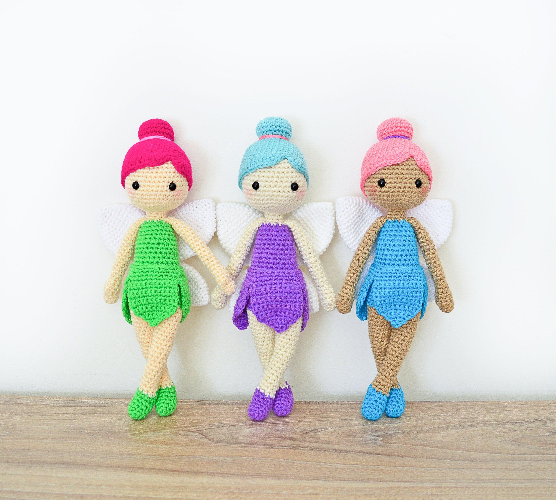 Crochet Pattern In English Felicia The Fairy Doll 11 Etsy