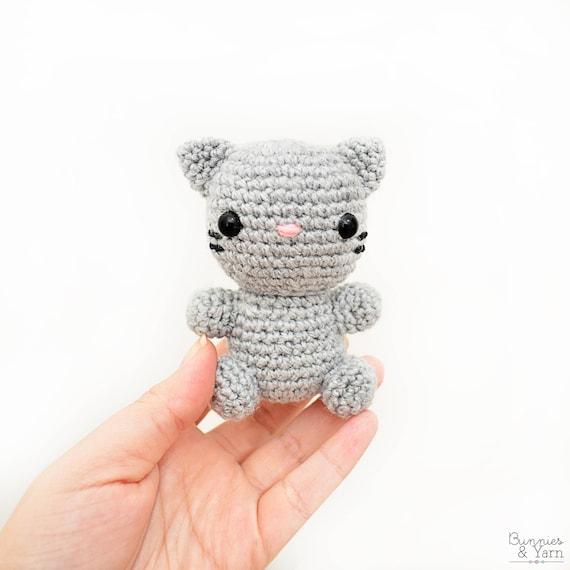 Patrón de Crochet en Inglés Gato Bebé 12 Babies   Etsy