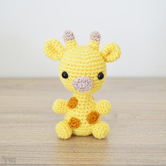 Patrón de Crochet en Inglés Jirafa Bebé 1 Babies | Etsy
