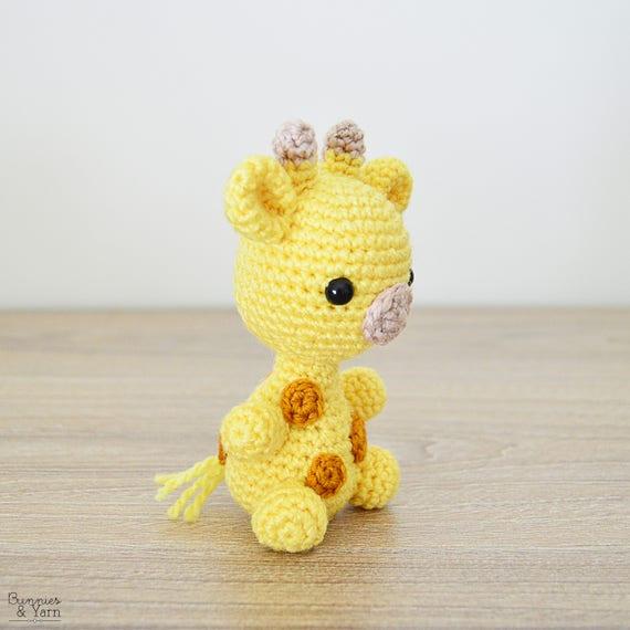 Patrón de Crochet en Inglés Jirafa Bebé 1 Babies   Etsy
