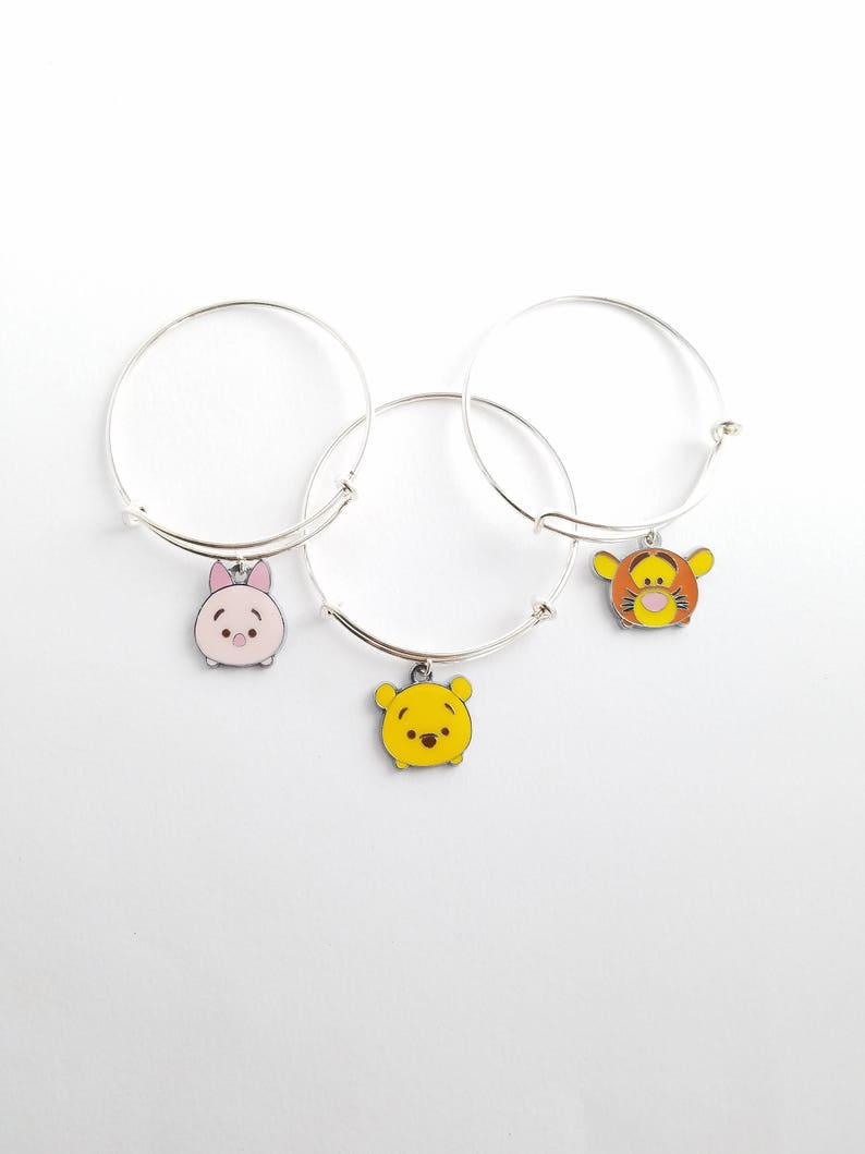 bd376606a185a TV & Movie Character Toys Disney Tsum Tsum Metal Bracelet With 4 ...