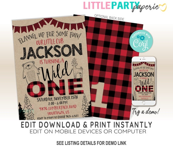 best of wild one birthday invitation or 91 free printable wild one birthday invitations