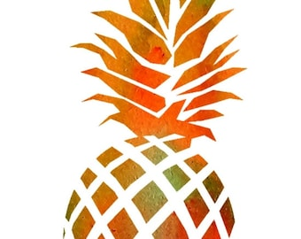 Ananas A4 or A3 (print of the original)