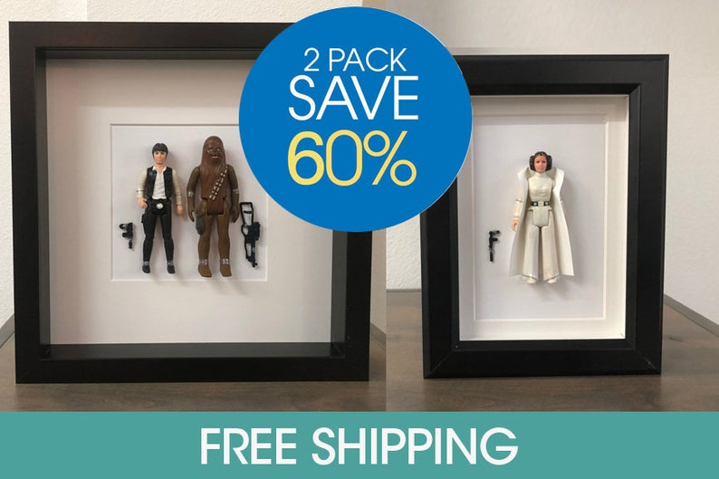 Labor Day Sale 60 Off Free Shipping Vintage Decor Princess Leia Man Cave Decor Studio Decor Star Wars Decor Han Solo Chewbacca