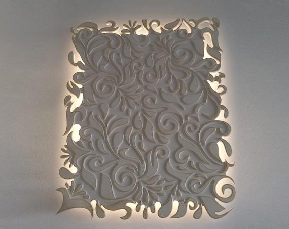 Sconce - Wood Pendant Light - Modern Chandelier Lighting - Hanging Dining Lamp - Ceiling Light Fixture - Geometric Lamp - Minimal
