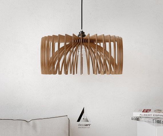 Kronleuchter Decke Modern ~ Kronleuchter pendelleuchte lampe holz lampen holz etsy