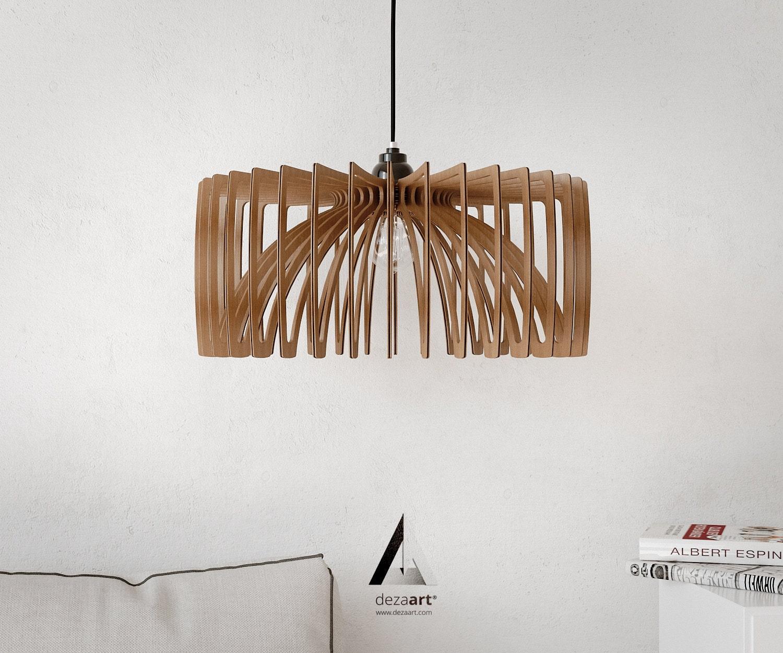 Chandelier, Pendant Light, Lamp, Wood, Lamps, Wood Pendant