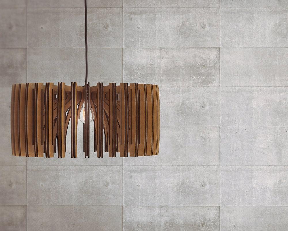 wood pendant light modern chandelier lighting hanging dining