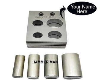 Large Oval Disc Cutter Set of 4 - Stamping Blanks Dies - Jewellery Tools - Free Shipping