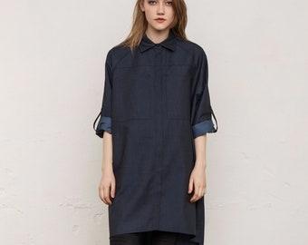 c21e48da94b Plus size tunic   Shirt   Blouse   Denim   Shirtdress   Denim shirt   Tunic    Cotton blouse   Top   Plus size clothing   Maternity