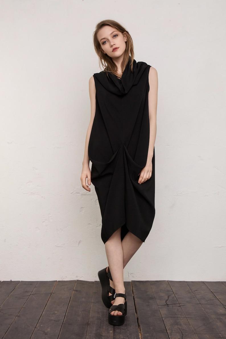 64d2f1eb4b Czarna sukienka sukienka Cocktail Dress Suknia Wieczorowa Mini