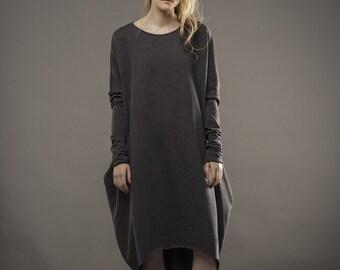 Dress / Sweatshirt / Tunic / Plus size dress / Aesthetic clothing / Long dress / Midi dress / Plus size clothing / Maternity / Casual dress