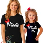 Disney Shirts I Disney Family Shirts I Mommy and Me Disney Shirts I Matching Minnie Family Shirts I Family Disney Shirts I Minnie Me Shirt