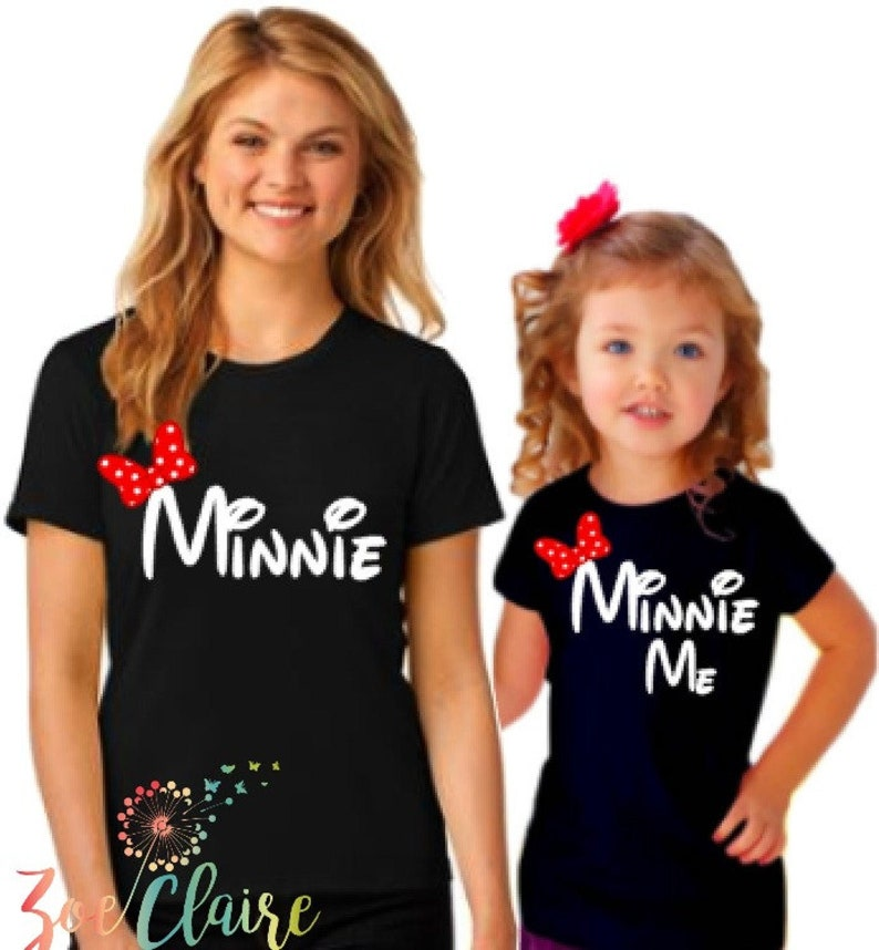 Disney Family Shirts Disney World Family Shirts Minnie Me image 0