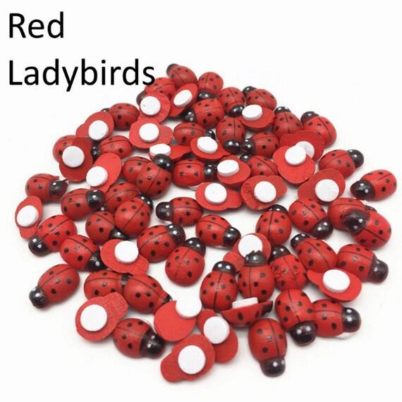 Embelishments x 20 Ladybird