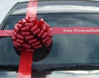 Car Bow Gift Kit Birthday Anniversary Graduation Bow - Free Print - Fast Shipping