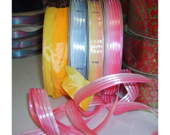 Ribbon Sale - Wired Ombre Bow Ribbons 6