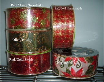 New Wired Craft Ribbon - SALE 50yd for 5 Dollars +s/h