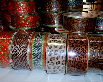 Ribbon Sale 50 Yards for 5 + s/h - Wired Christmas Tree Topper Bow Ribbons 4