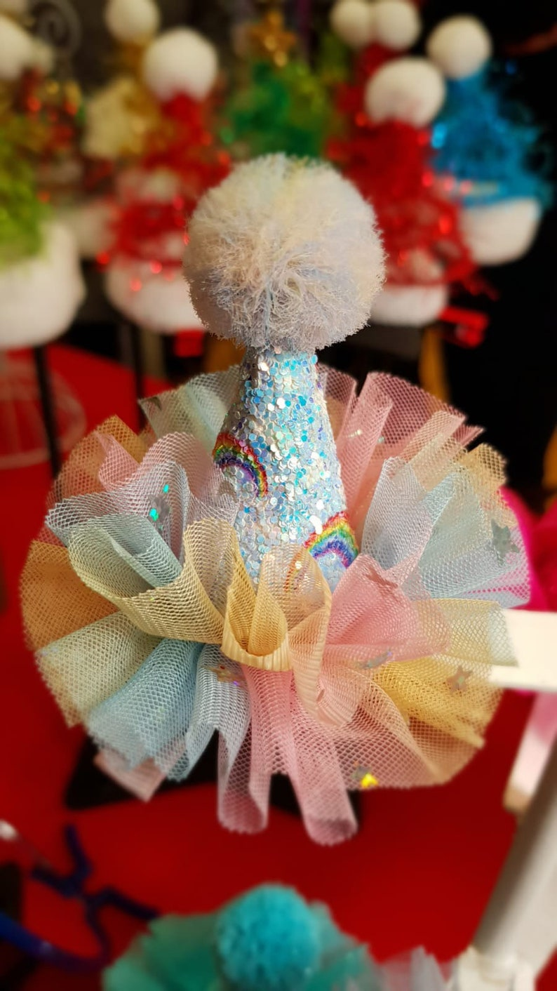 Mini Party Hat Hair Clip