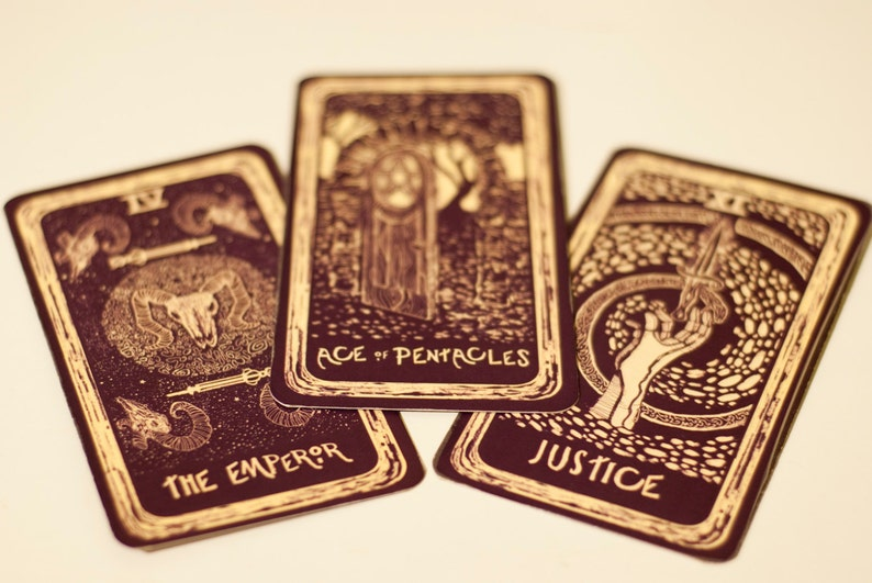 3 Card Tarot Reading - Light Visions or Prisma Visions Tarot